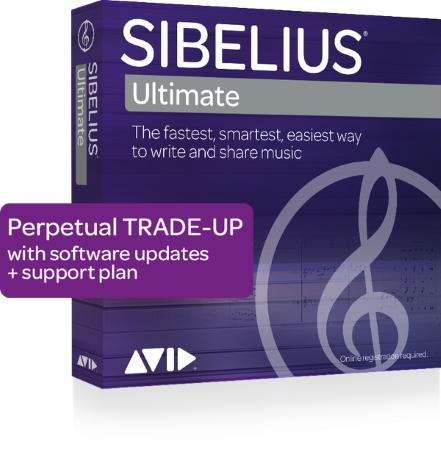 SIBELIUS Ultimate Trade-Up Perpetual licence: Trade-up from Sibelius, Sibelius First 5-8.X, Sibeliu