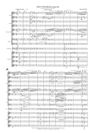 A DOLLY MIXTURE (score & parts)