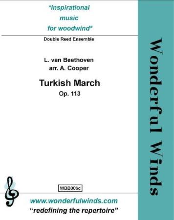 TURKISH MARCH Op.113 (score & parts)