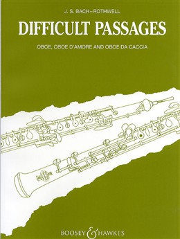 105 DIFFICULT PASSAGES from the Works of J.S. Bach