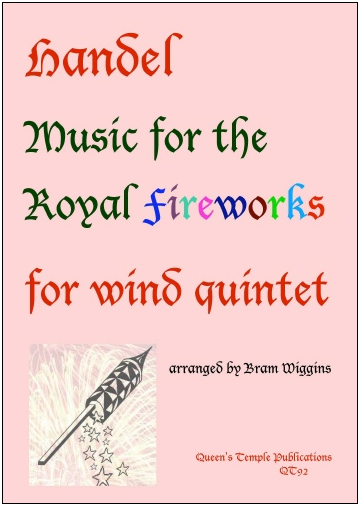 MUSIC FOR THE ROYAL FIREWORKS (score & parts)