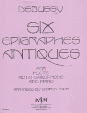 SIX EPIGRAPHES ANTIQUES