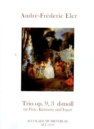 TRIO in D minor Op.9 No.3 score & parts
