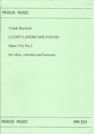 A LOST LANDSCAPE FOUND Op.110 No.2