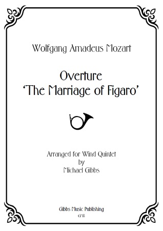 THE MARRIAGE OF FIGARO Overture (score & parts)