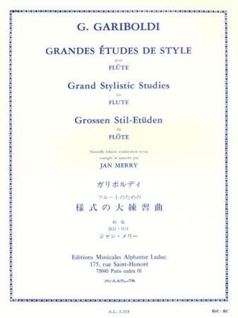 GRANDES ETUDES DE STYLE Op.134