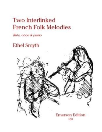 TWO INTERLINKED FRENCH FOLK-MELODIES (score)