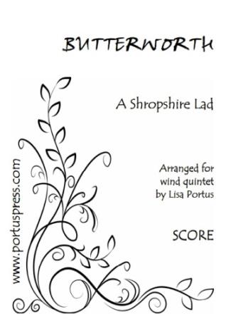A SHROPSHIRE LAD (score & parts)