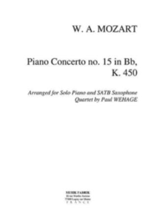 PIANO CONCERTO No.15 in Bb major K450