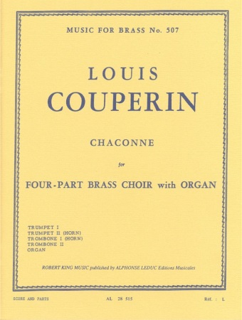 CHACONNE (score & parts)