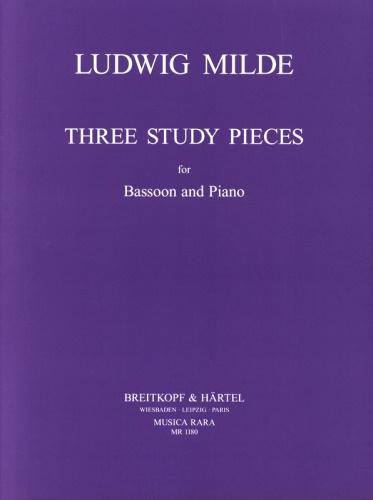 THREE STUDY PIECES