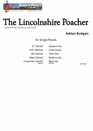 THE LINCOLNSHIRE POACHER (score & parts)