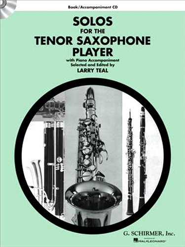 SOLOS FOR THE TENOR SAXOPHONE PLAYER + Online Audio