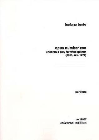 OPUS NUMBER ZOO (score)