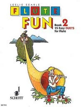 FLUTE FUN Book 2 15 easy duets