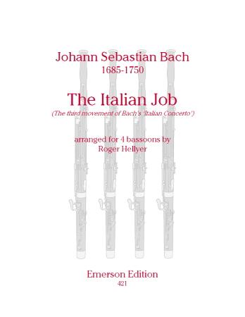 THE ITALIAN JOB (score & parts)