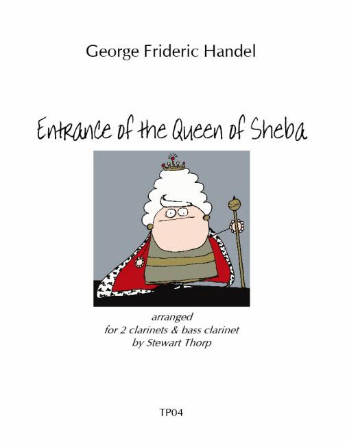 ENTRANCE OF THE QUEEN OF SHEBA (score & parts)