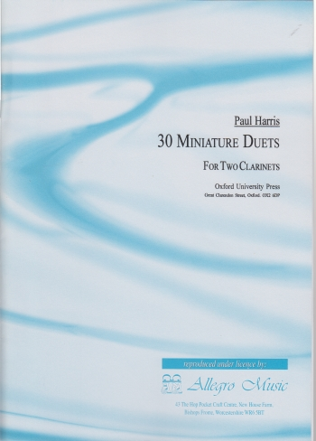 30 MINIATURE DUETS (Playing Score)