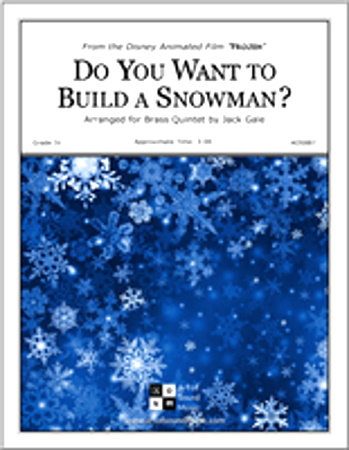 DO YOU WANT TO BUILD A SNOWMAN? score & parts