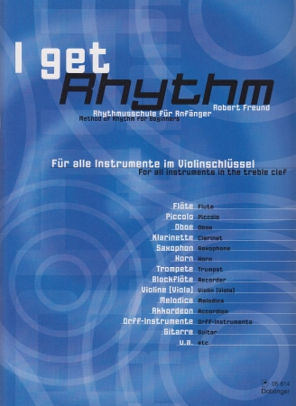 I GET RHYTHM (treble clef)