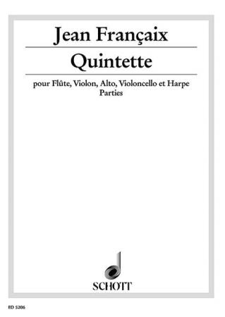 QUINTETTE (1934) set of parts