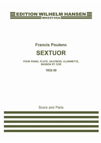 SEXTUOR (score & parts)