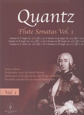 FLUTE SONATAS Volume 1