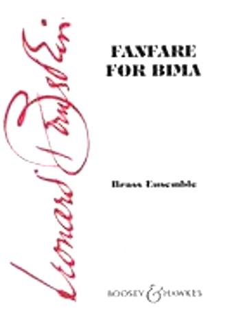 FANFARE FOR BIMA (score & parts)