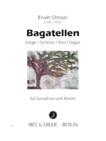 BAGATELLES: Elegie, Scherzo, Aria, Gigue