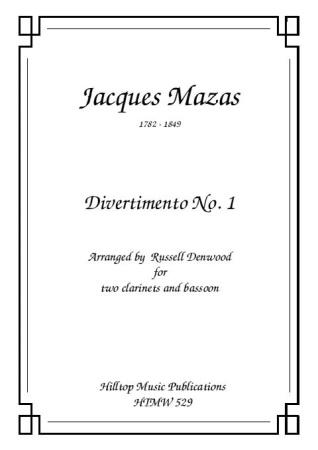 DIVERTIMENTO No.1 (score & parts)