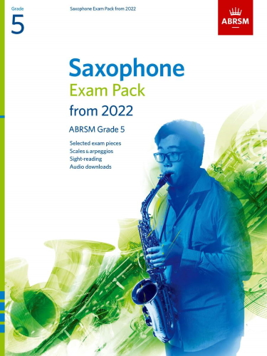 SAXOPHONE EXAM PACK From 2022 Grade 5