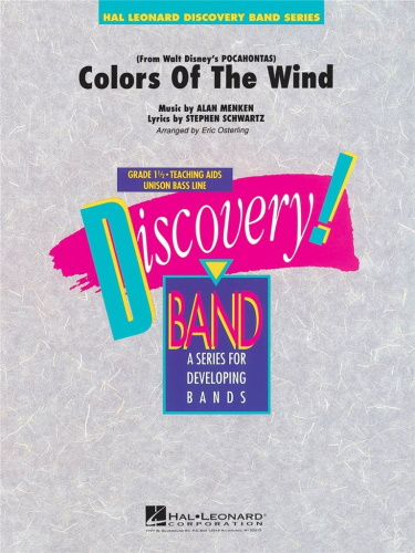 COLORS OF THE WIND (FROM POCAHONTAS) (score & parts)