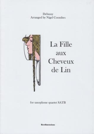 LA FILLE AUX CHEVEUX DE LIN (score & parts)