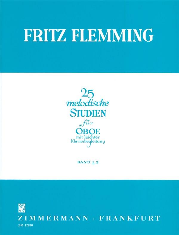 25 MELODIC STUDIES Volume 2
