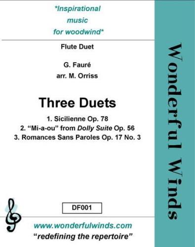 THREE DUETS (score & parts)