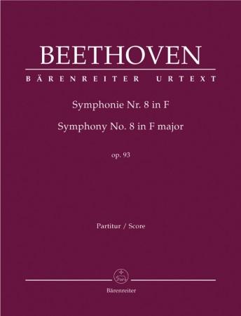 SYMPHONY No.8 in F major, Op.93 (full score) Urtext