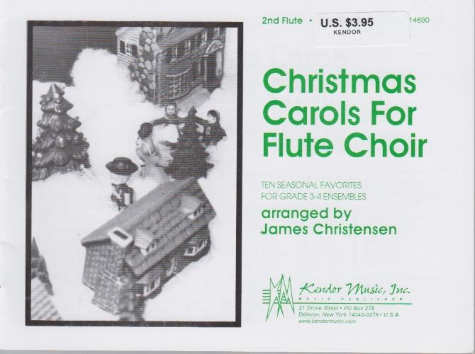 CHRISTMAS CAROLS FOR FLUTE CHOIR Flute 2
