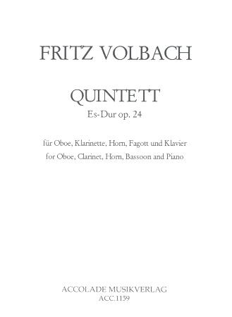 QUINTET in Eb major Op.24