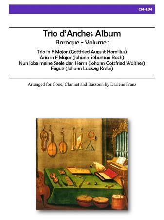 TRIO D'ANCHES ALBUM Baroque Volume 1