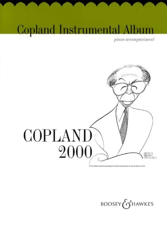 COPLAND INSTRUMENTAL ALBUM Piano Accompaniment