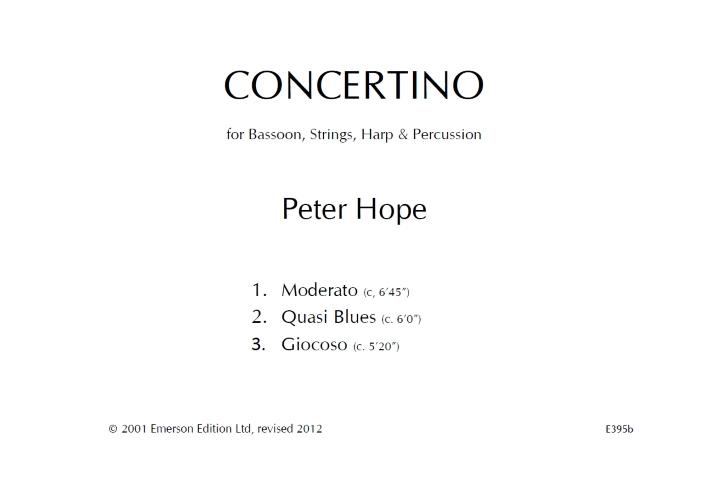 CONCERTINO (full score)