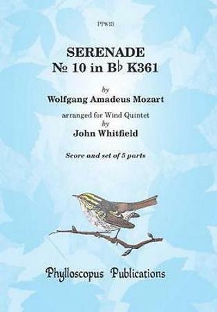 SERENADE No.10 in Bb major, K361 'Gran Partita' (score & parts)