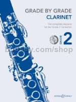 GRADE BY GRADE Clarinet Grade 2 + CD