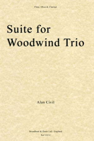 SUITE FOR WOODWIND TRIO (score & parts)