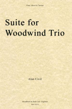 SUITE FOR WOODWIND TRIO (score & parts)