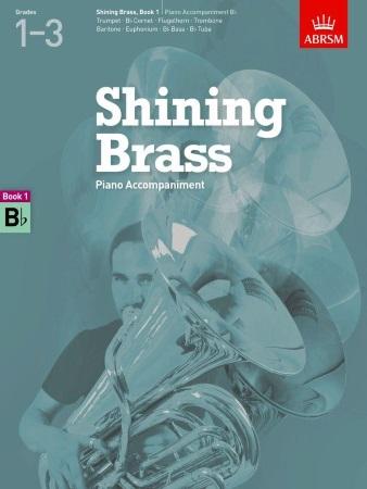 SHINING BRASS Book 1 Piano Accompaniment (Bb Instruments)
