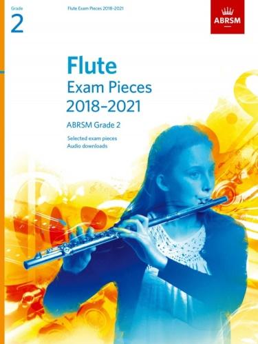 FLUTE EXAM PIECES Grade 2 (2018-2021)