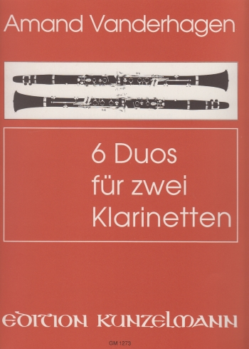 6 DUOS for Two Clarinets