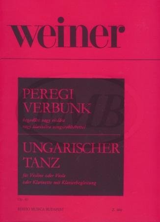PEREGI VERBUNK Op.40
