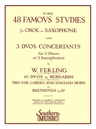 48 FAMOUS STUDIES Oboe 1